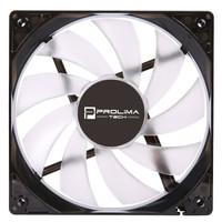 Prolimatech Basic Fan 12025 机箱风扇/红色LED/1300转/静音/一年换新 *3件