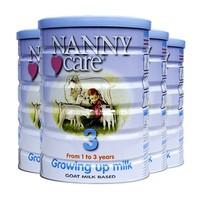 NANNY care 婴幼儿配方羊奶粉 3段 900g 4罐装