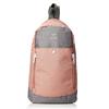 anello 阿耐洛 染色涤纶胸包高密度耐热聚酯斜挎背包B1717粉色灰色