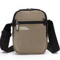 NATIONAL GEOGRAPHIC 国家地理 斜挎包 男 休闲单肩包美国RFID防盗男士包商务背包斜跨包 -N13203.20米黄色