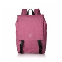 anello 阿耐洛 自营旗舰店 潮流时尚高密度翻盖双肩背包H1151粉红色