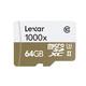 Lexar 雷克沙 1000x microSDXC UHS-II U3 TF存储卡 64GB 89元包邮(需用券)