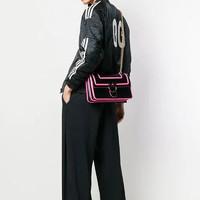 PINKO 品高 LOVE FLUO系列 女士亮边装饰单肩斜挎包
