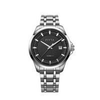 飞亚达(FIYTA)手表 经典系列防水钢带男表商务自动机械表时尚手表男士学生进口机芯百搭带日历