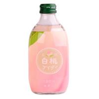 友桝 碳酸白桃味汽水 300ml/瓶 *11件