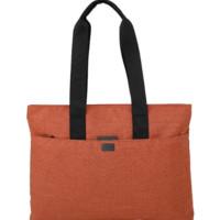 LEXON 乐上 手提包女士14英寸笔记本电脑包休闲单肩包购物袋防泼水挎包LNR1413O 橙色