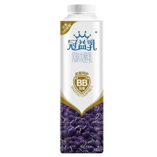 蒙牛 冠益乳 风味发酵乳 桑葚口味酸奶酸牛奶 450g *16件