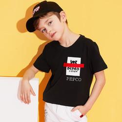PEPCO 小猪班纳 儿童圆领t恤短袖
