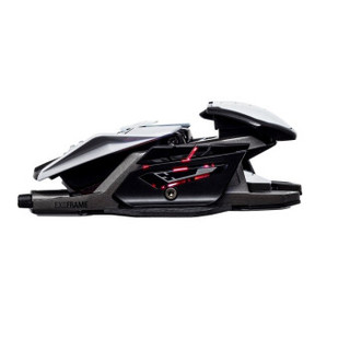 Mad Catz 美加狮 R.A.T.PRO X3 16000DPI 人体工程学设计 异型电竞鼠标 黑色