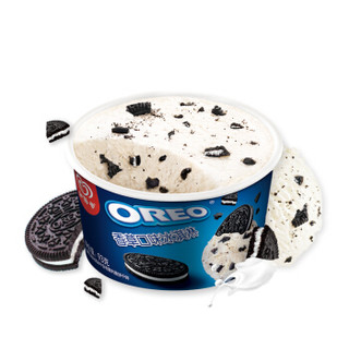 京东PLUS会员 : 和路雪 OREO奥利奥 香草口味 冰淇淋家庭装 93g*3杯 *7件