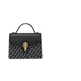 HONGU 红谷 女包包手拎包时尚潮流女士单肩包斜挎包 H5131660漆黑