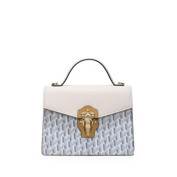 HONGU 红谷 女包包手拎包时尚潮流女士单肩包斜挎包 H5131660米白