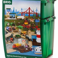 BRIO 火車系列 軌道世界豪華級套裝 塑料盒裝 word 33766