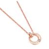 Zocai 佐卡伊珠宝 LockHeart系列 D06512 钻石项链 3分 无色钻石