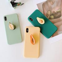 格瑞能 iPhone6-XS MAX立体水果手机壳