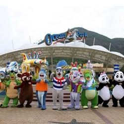 香港海洋公园1日门票(含缆车)+去程交通