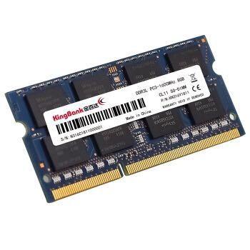 KINGBANK 金百达 8GB DDR3L 1600 笔记本内存条