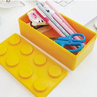 loz俐智 创意积木收纳盒 颜色随机