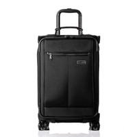 舒提啦 行李箱男女大容量旅行箱拉杆箱登机箱 黑色 20英寸