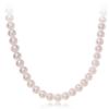 CHOW TAI FOOK 周大福 T75661 925银镶珍珠项链 40cm