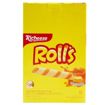Richeese 丽芝士 芝士奶酪夹心蛋卷 (180g、盒装、20包)
