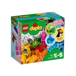 网易考拉黑卡会员 : LEGO 乐高 得宝 DUPLO 10865 我的乐趣创意盒