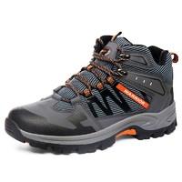 WARRIOR 回力 HLDSX3552PPT 登山鞋男 (黑色、40)
