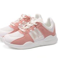 RUXI 如熙 休闲鞋女鞋子潮款拼接运动鞋女士平底鞋3454735250882 灰色 35