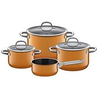 Silit 喜力特 Silargan希拉鋼 黃色鍋具 4件套