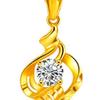 鸣钻国际 JXD207 黄金项链 1.6 42cm