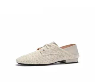 hotwind 热风 女士时尚休闲鞋 H01W9504 03米色 39
