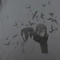 UNIQLO 优衣库 421452 MANGA (佐助和鼬)印花T恤
