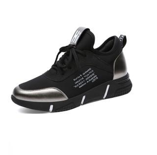 GUCIHEAVEN 古奇天伦 女士时尚百搭韩版低帮运动跑步休闲鞋 9085 铅色 37