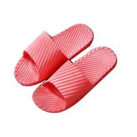 YUZHAOLIN 俞兆林 情侣居家男女室内软厚底浴室洗澡防滑凉拖鞋8810 红色 36-37