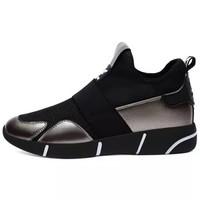 古奇天伦 韩版百搭休闲运动跑步鞋 8819-2 铅色(内增高透气) 37