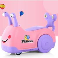 麦宝创玩 儿童蜗牛滑行车 灯光音乐款