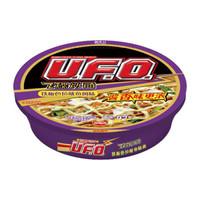NISSIN 日清食品 UFO飞碟炒面多口味速食拌面方便面 铁板色拉鱿鱼风味123/碗