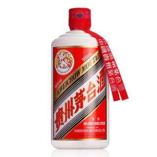 MOUTAI 茅台 酱香型白酒 (500ml、瓶装、酱香型、53度)