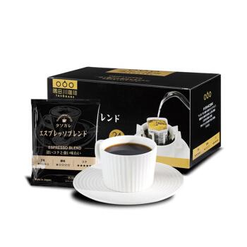 TASOGARE 隅田川 挂耳式黑咖啡粉 意式口味 24片 *3件
