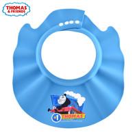 Thomas & Friends 托马斯和朋友 洗头帽浴帽防水护耳儿童洗发帽可调节 蓝色