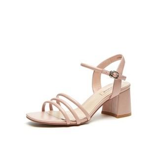 hotwind 热风 女士时尚凉鞋 H56W9623 14粉红 37