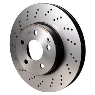 Brembo 布雷博 Xtra系列 高性能打孔刹车盘 单只装 前盘