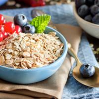 澳诺滋早餐即食90秒速食健身代餐全谷物营养早餐原味燕麦片1kg