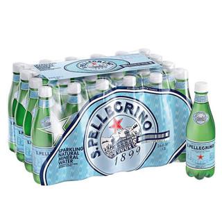 临期品 : San Pellegrino圣培露苏打有气天然矿泉水  500ml/瓶*24瓶塑料