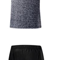 ANTA 安踏 新款运动套装干爽舒适运动篮球套装 15821204 远洋蓝 2XL