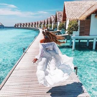 全国多地-马尔代夫库拉玛提岛7天5晚自由行(2晚沙屋+2晚水屋+早中晚餐)