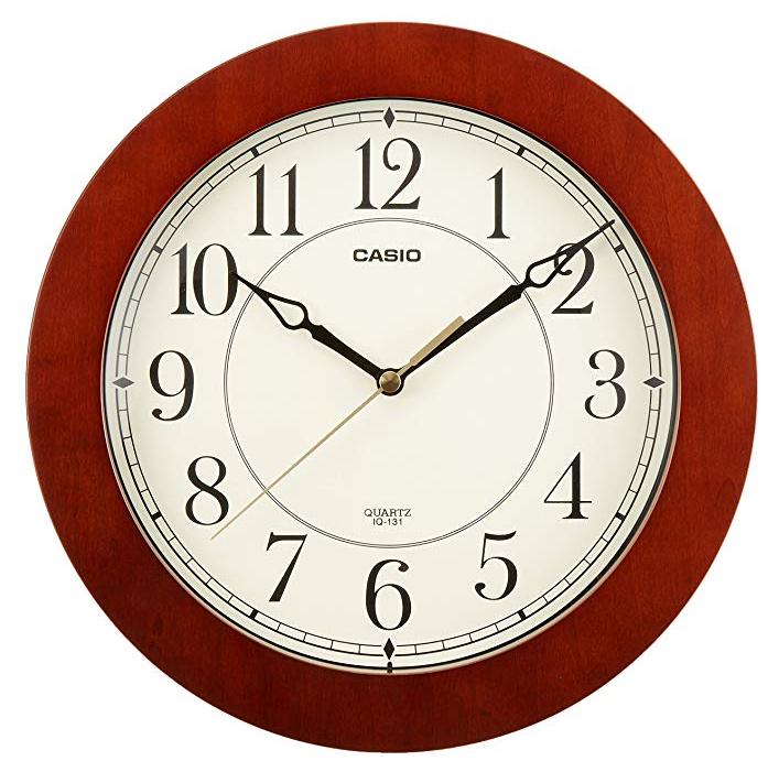 CASIO 卡西欧 IQ-131-5JF 室内石英挂钟