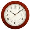 CASIO/卡西欧 挂钟 木框 深棕色 IQ-131-5JF