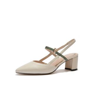 hotwind 热风 女士时尚单鞋 H34W9503 03米色 36