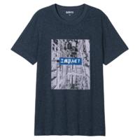 Baleno 班尼路 88902233 男士印花T恤